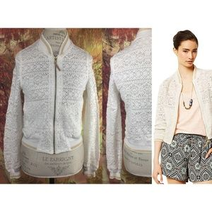 Anthropologie Lace Cleo Jacket By Hei Hei Size S